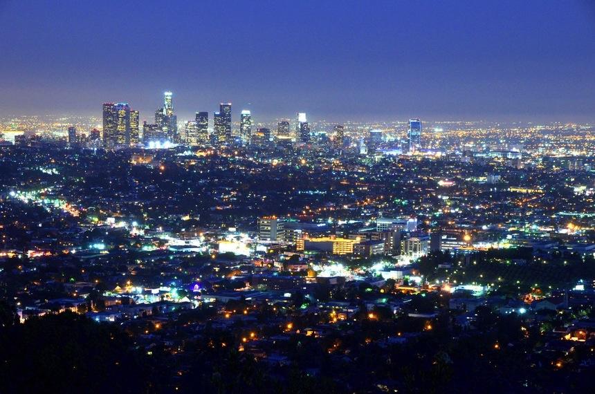 洛杉矶 夜景 私人定制 包车 包团 自驾游 趣美旅行